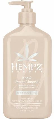Hempz Beauty Koa & Sweet Almond Daily Moisturizer 17 oz
