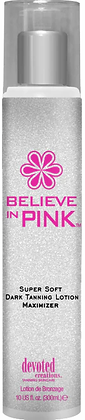 Devoted Creations Believe In Pink Maximizer Tanning Lotion 10 oz