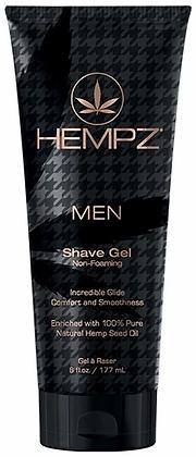 Hempz Men Shave Gel 6 oz