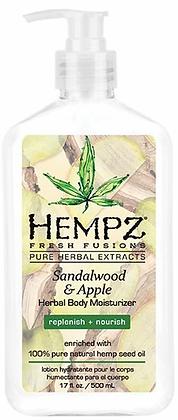Hempz Sandalwood & Apple Herbal Body Moisturizer 17 oz