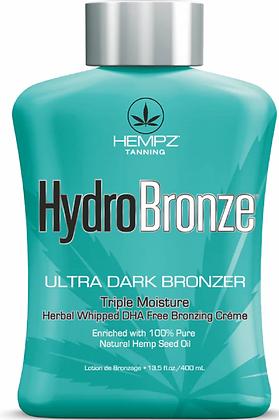 Hempz Hydro Bronze Ultra Dark Bronzer Tanning Lotion 13.5 oz