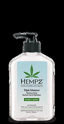 Hempz Triple Moisture Herbal Hand Sanitizer 17 oz