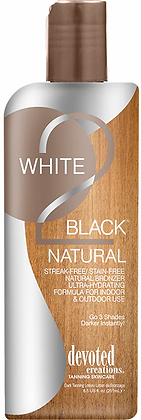 Devoted Creations White 2 Black Natural Tanning Lotion