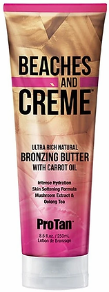 Pro Tan Beaches and Creme Bronzing Butter Tanning Lotion 8.5 oz