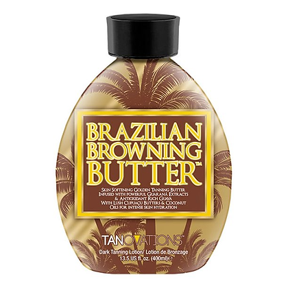 Ed Hardy Tanovations BRAZILIAN BROWNING BUTTER Tanning Lotion 13.5oz