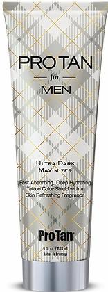 Pro Tan for Men Ultra Dark Maximizer Tanning Lotion 9 oz