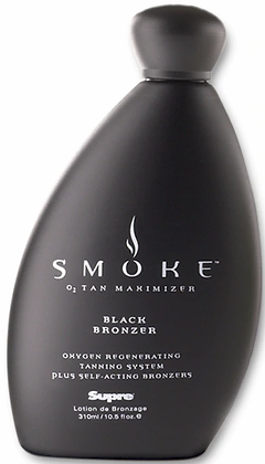 Supre Tan Smoke Black Tanning Lotion 10.5 oz