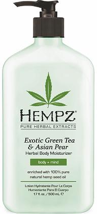 Hempz Green Tea & Asian Pear Moisturizer 17 oz