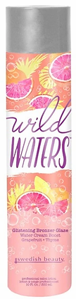 Swedish Beauty Wild Waters Glistening Bronzer Glaze Tanning Lotion 10 oz