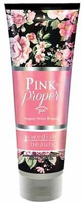 Swedish Beauty Pink & Proper Tanning Lotion