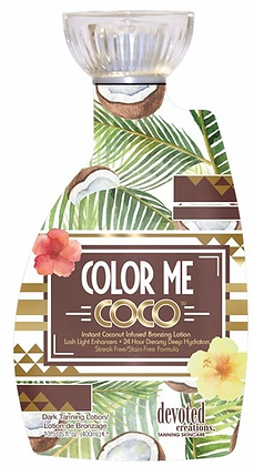 Devoted Creations Color Me Coco Instant Bronzing Tanning Lotion 13.5 oz