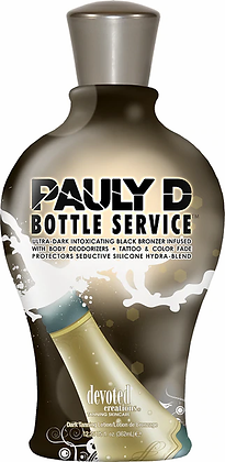 Devoted Creations Pauly D Bottle Service Tanning Lotion