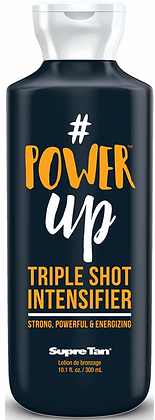 Supre Tan #Power Up Triple Shot Intensifier Tanning Lotion 10.1 oz