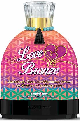 Supre Tan Love Bronze Dark Bronzing Tanning Lotion 13.5 oz