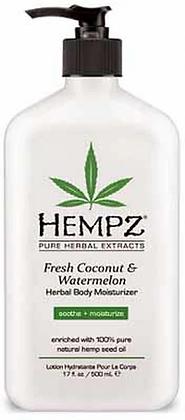 Hempz Fresh Coconut and Watermelon Moisturizer 17 oz