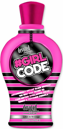 Devoted Creations #Girl Code Tanning Lotion 12.25 oz