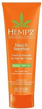 Hempz Yuzu & Starfruit Touch of Summer Fair Skin Moisturizer