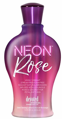 Devoted Creations Neon Rose Natural Bronzer Tanning Lotion 12.25 oz