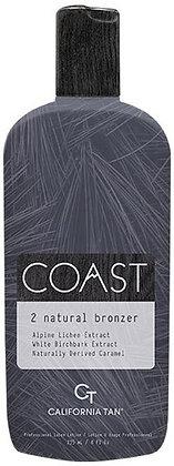 California Tan Coast Natural Bronzer Step 2 Tanning Lotion