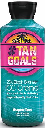 Supre Tan #Tan Goals 25X Black Bronzer Tanning Lotion 10.1 oz