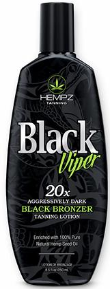 Hempz Black Viper Tanning Lotion 8.5 oz