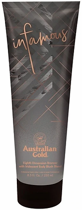 Australian Gold Infamous 8th Dimension Bronzer Tanning Lotion 8.5 oz