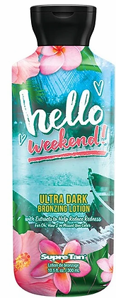 Supre Tan Hello Weekend Ultra Dark Bronzing Tanning Lotion 10.1 oz
