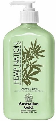 Australian Gold Hemp Nation Agave & Lime Moisturizing Tan Extender 18 oz