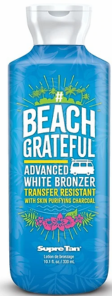 Supre Tan Beach Grateful White Bronzer Tanning Lotion 10.1 oz