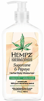 Hempz Sugarcane & Papaya Moisturizer