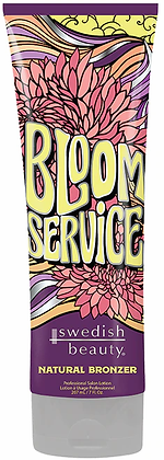 Swedish Beauty Bloom Service Natural Bronzer Tanning Lotion 7 oz