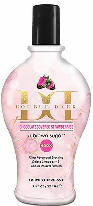 Brown Sugar Double Dark Chocolate Covered Strawberries 400X Bronzer - 7.5 oz.