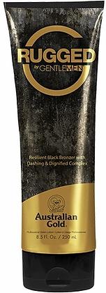 Australian Gold Rugged by Gentlemen Black Bronzer Tanning Lotion 8.5 oz