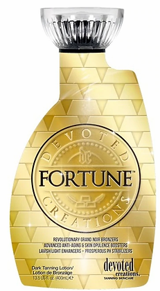 Devoted Creations Fortune Grand Noir Bronzer Tanning Lotion 13.5 oz