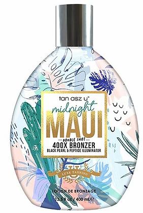 Tan AsZ U Midnight Maui Double Shot 400X Bronzer - 13.5 oz.