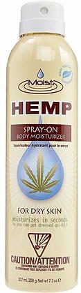 Moist Hemp for Dry Skin Spray-On Moisturizer