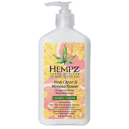 Hempz Fresh Fusions Pink Citron & Mimosa Flower Body Mist - 4.4oz