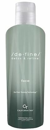 California Tan DeFine Face Tanning Lotion