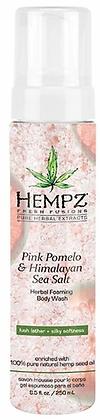 Hempz Pink Pomelo & Himalayan Sea Salt Foaming Body Wash 8.5 oz