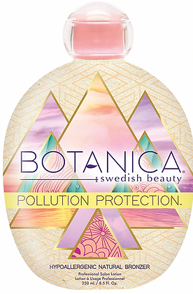Swedish Beauty Pollution Protection Natural Bronzer Tanning Lotion 8.5 oz