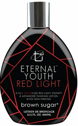 Brown Sugar Eternal Youth Red Light Therapy Advanced Tanning Lotion 13.5 oz