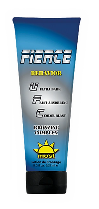 Most Fierce Behavior Tanning Lotion 8.5 oz