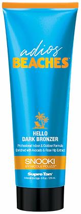 Supre Tan Snooki Adios Beaches Hello Dark Bronzer Tanning Lotion 9 oz