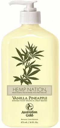 Australian Gold Hemp Nation Vanilla Pineapple Tan Extender 16 oz