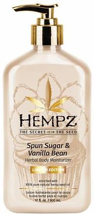 Hempz Spun Sugar & Vanilla Bean Limited Edition Moisturizer 17 oz
