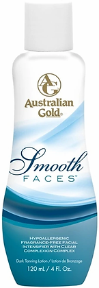 Australian Gold Smooth Faces Tanning Lotion 4 oz