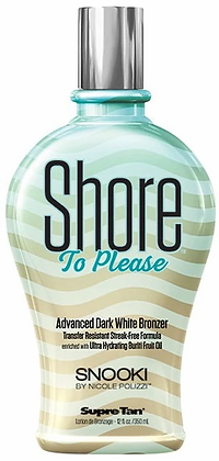 Supre Tan Snooki Shore To Please Dark White Bronzer Tanning Lotion 12 oz