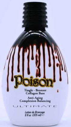 Ultimate Poison Extreme Tingle Bronzer Tanning Lotion 11 oz
