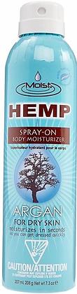 Moist Hemp Argan Spray On Moisturizer