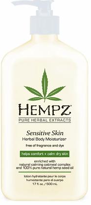 Hempz Sensitive Skin Moisturizer 17 oz
